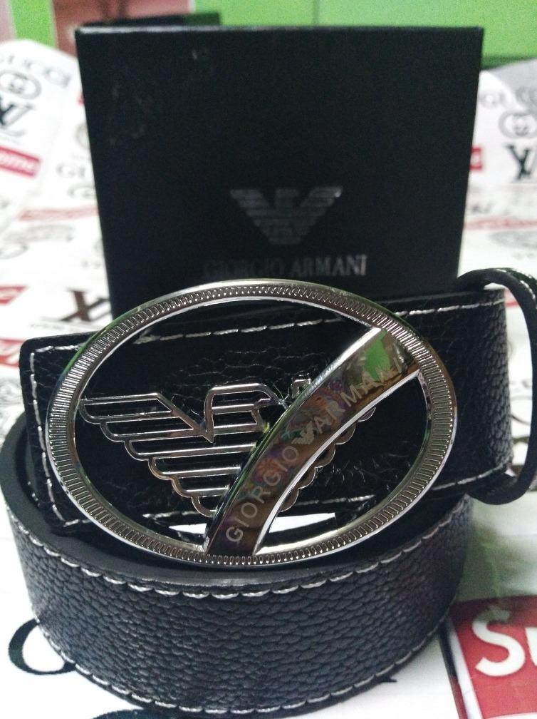 adecuado para hombres/mujeres Boutique en ligne buena calidad Cinturón Giorgio Armani Cod 78