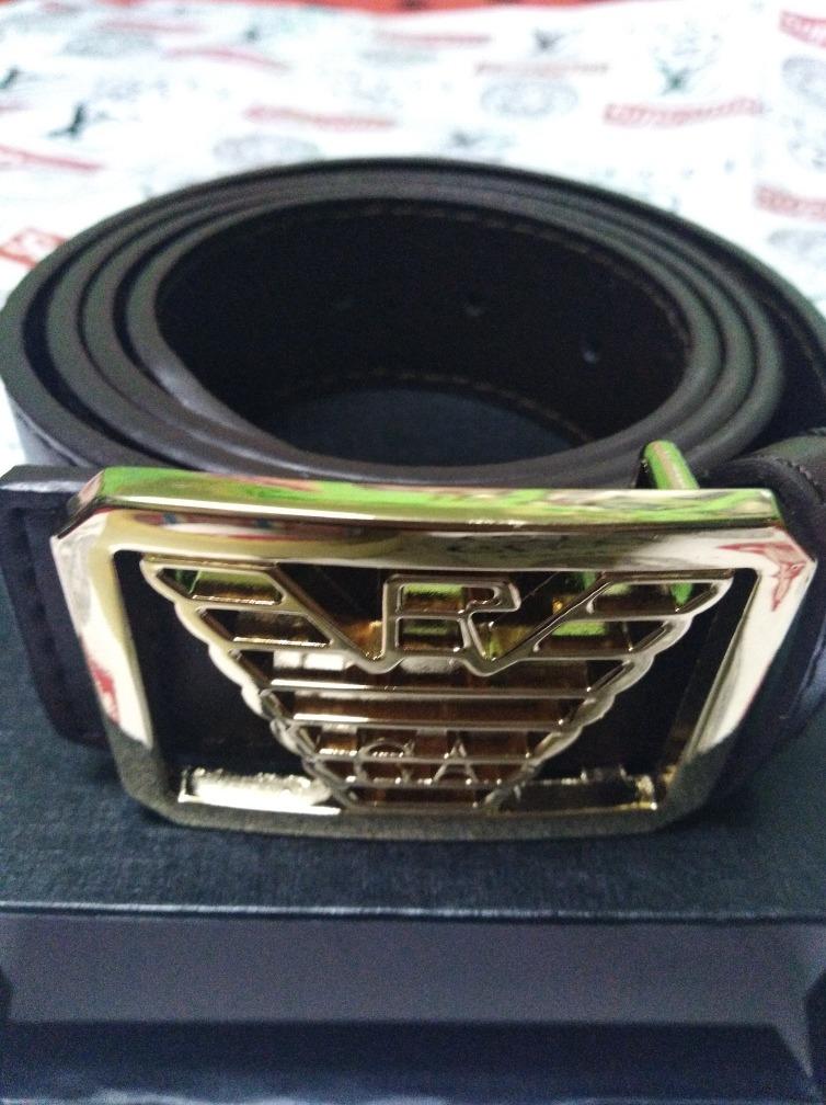 elegir original precios de remate fina artesanía Cinturón Giorgio Armani Cod 80