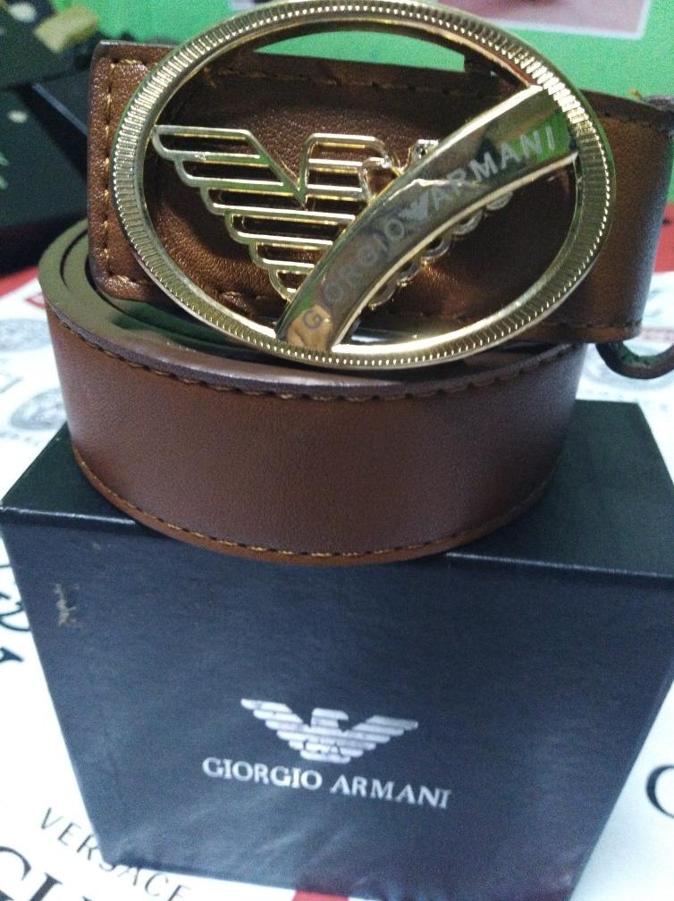 comprando ahora venta directa de fábrica mejores telas Cinturón Giorgio Armani Cod 81