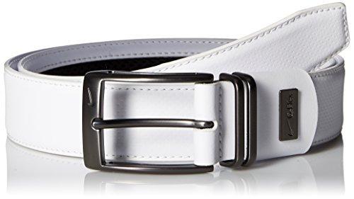 cinturón grabado en punta de punto nike para hombres con g f
