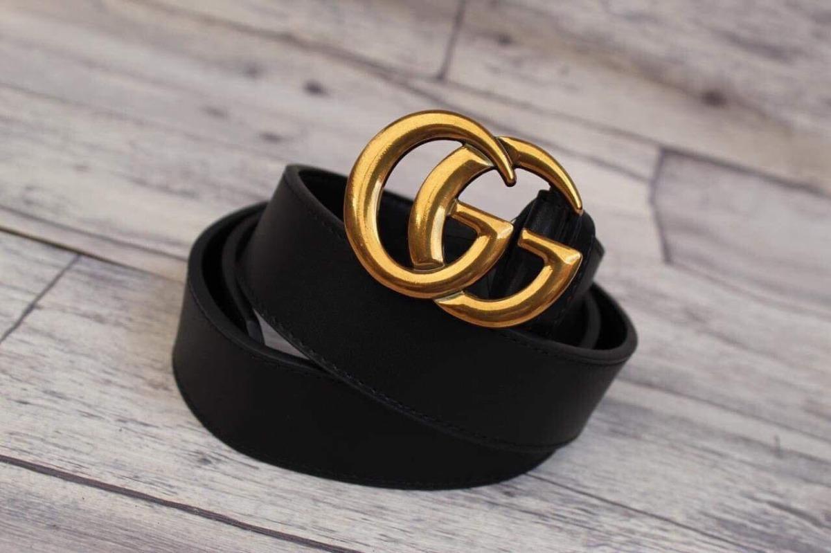 Cinturon Gucci Negro -   390.00 en Mercado Libre 3b64fa3dea8