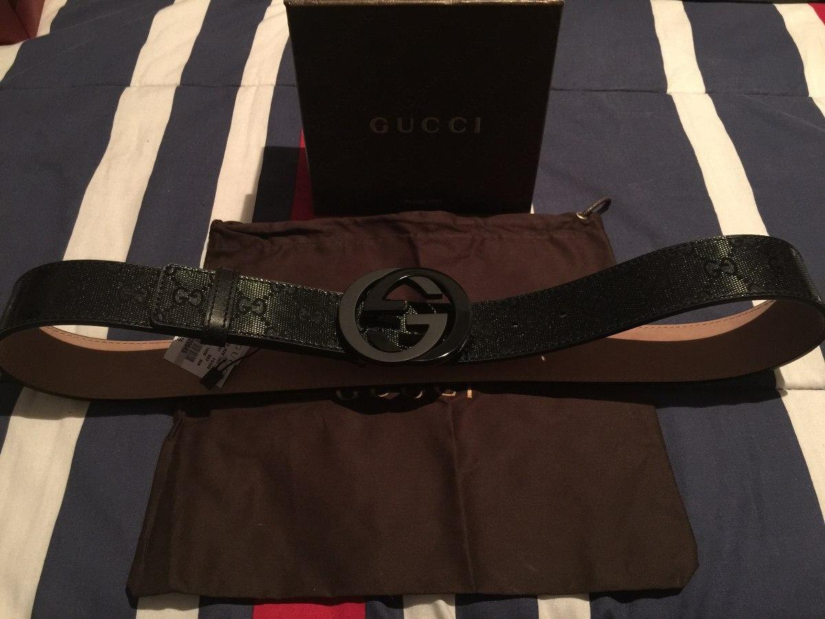 36d371a19 Cinturon Gucci Original - $ 3,500.00 en Mercado Libre