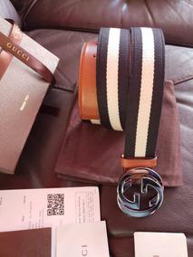 b93ace7fe Cinturon Gucci Piel Guccissima Hebilla Cuadrada Entrelazada - Ropa ...
