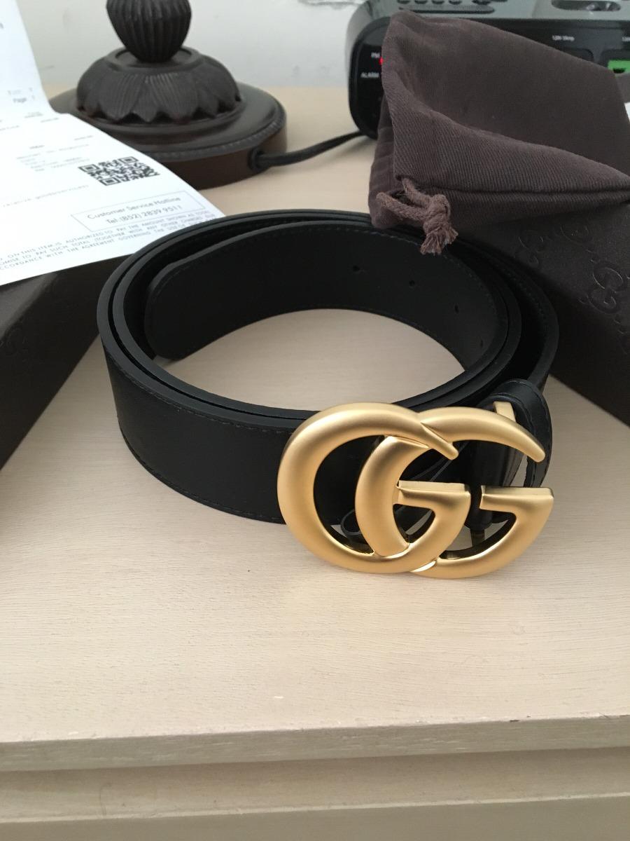 28f834c3a Cinturon Gucci Para Hombre Y Mujer - $ 4,200.00 en Mercado Libre
