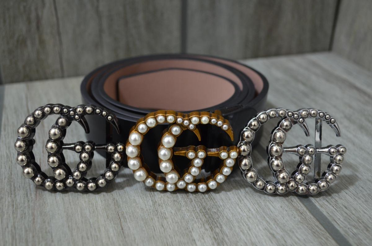 cinturon gucci perlas 3 hebillas para dama envío gratis. Cargando zoom. 251daa8bdfb