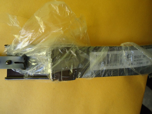 cinturon kenneth cole reaction talla38 reversible negro/gris
