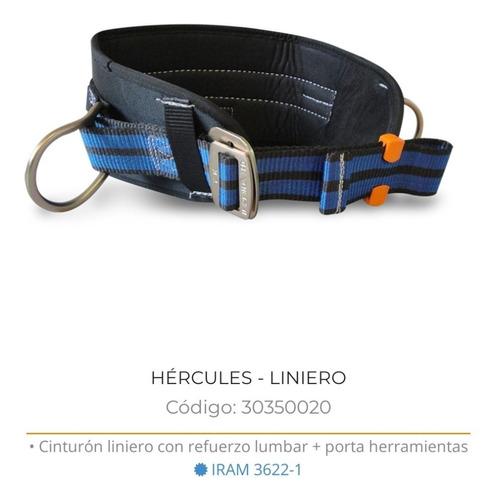 cinturon linero hercules c/porta herramientas x-urban