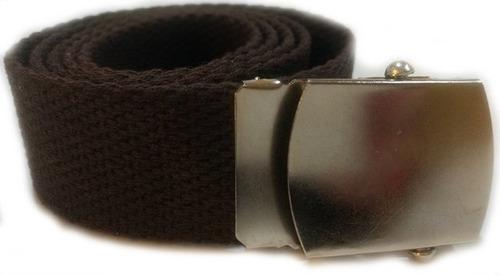 cinturon marinero de algodon de 3,5 cm de ancho