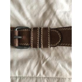 Cinturón Marrón Mujer Retro Cinto Vintage