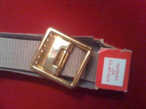 cinturon militar 104 cm de largo