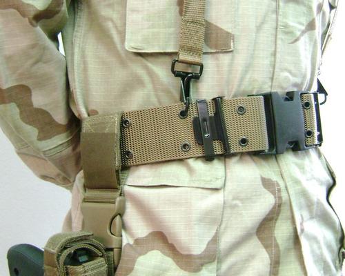 cinturon militar tan