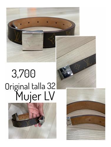 cinturon mujer lv original usaso 32