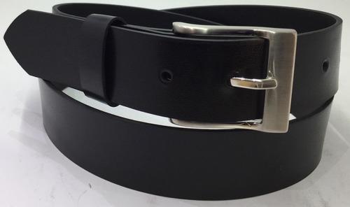 cinturon negro cuero recuperado uniforme traje envio gratis