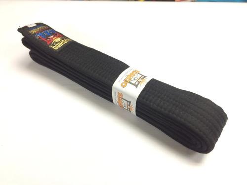 cinturon negro de artes marciales.desde la talla 3 a 8