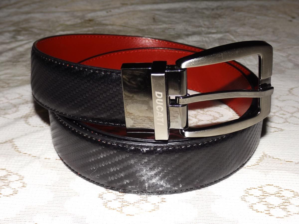 5e4303778 Cinturon Negro / Rojo Ducati Talla 32/34 Envio Incluido - $ 700.00 ...