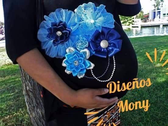 Cinturon Para Embarazada Baby Shower 350 00 En