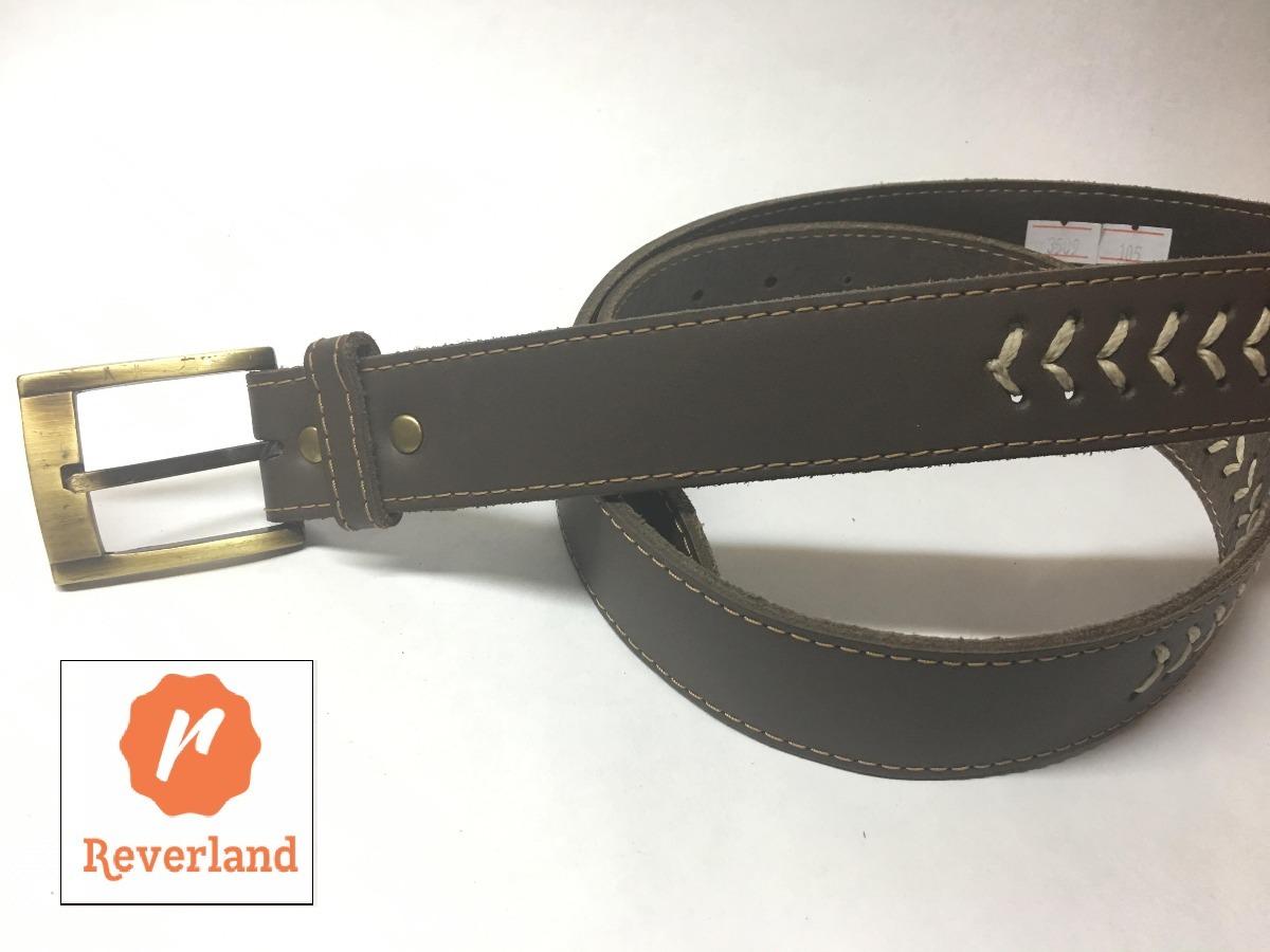 499b33780c339 Cinturon Para Hombre Artesanal 100% Cuero. Mod 4008 - $ 519,00 en ...