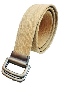 ahorrar 38b03 2af65 Cinturón Para Hombre De Cinta Ajustable Color Caqui Cgk