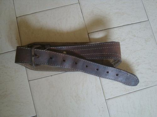 cinturon para levantar pesas de cuero
