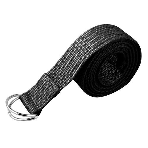 cinturon para yoga/pilates bodyfit bf-yobe14 negro