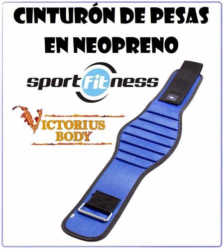 cinturon pesas neopreno ajuste velcro entrenamiento fitness
