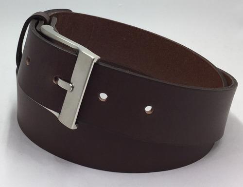 cinturon piel cafe formal alta calidad 35mm
