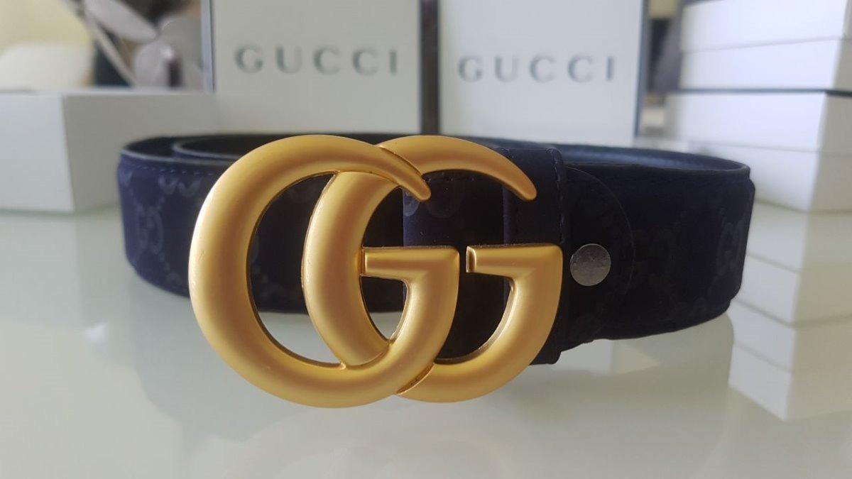 cinturon piel dama mujer cinto canvas gg gucci original moda. Cargando zoom. c464687000f