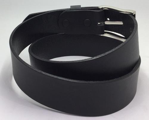 cinturon piel negro formal alta calidad 35mm