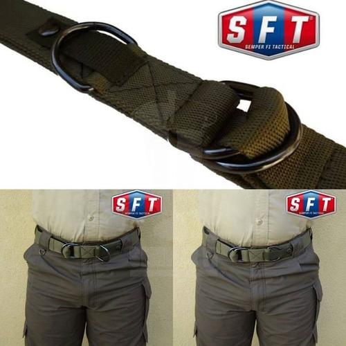 cinturón porta equipo y de extracción verde oliva de s f t®