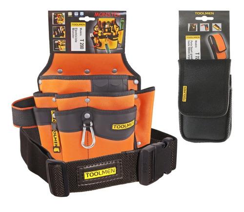 cinturon porta herramientas celular toolmen t200 t35 t72