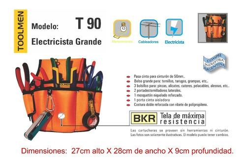 cinturón porta herramientas combo toolmen t90 y t95 y t72