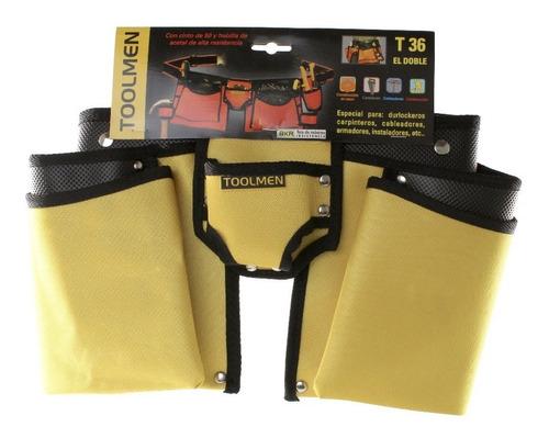 cinturón porta herramientas t36 para durlock  cinto 140 cm
