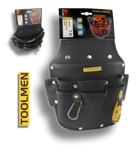 cinturon porta herramientas toolmen t20 electricista super