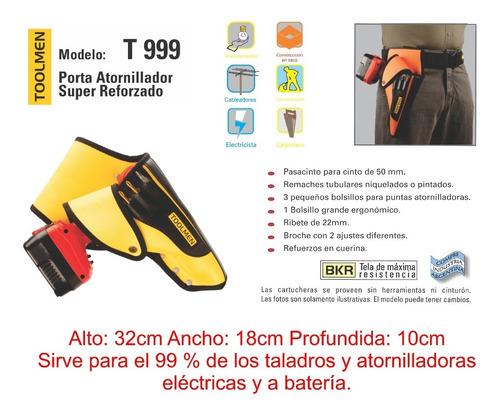 cinturon porta herramientas toolmen t900 raptor + t72 + t999