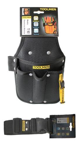 cinturon porta herramientas toolmen t92 con cinturón t95