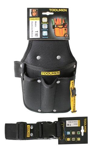 cinturón porta herramientas toolmen t92 mas cinto t95 140cm