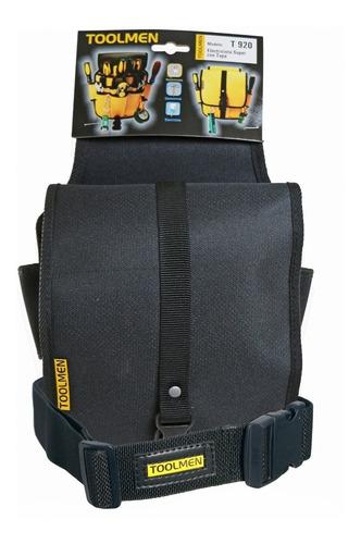 cinturon porta herramientas toolmen t920 con tapa + t35