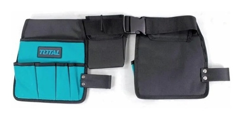 cinturon porta herramientas total p/ 14 piezas - tofema