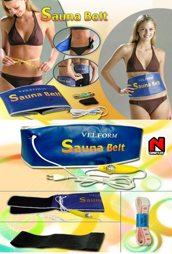cinturon reductivo sauna belt, quemador de grasa