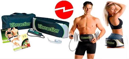 cinturon reductor vibrador y adelgazante vibroaction
