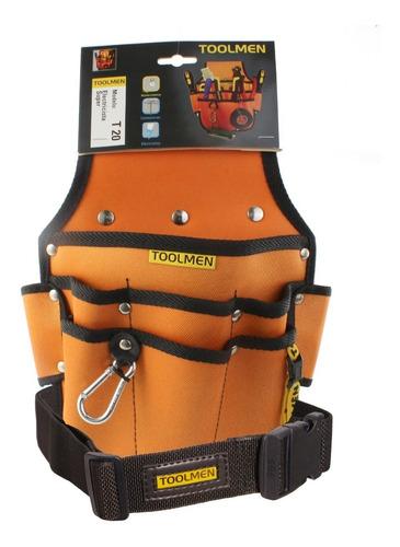 cinturon reforzado porta herramienta toolmen t20 t35