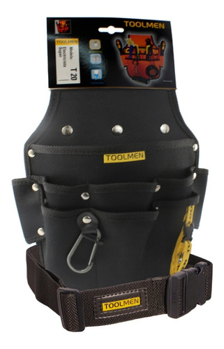 cinturon reforzado porta herramienta toolmen t20 t35 con cinto reforzado de 140cm de largo regulable