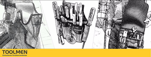 cinturon reforzado toolmen t35 especial porta herramientas