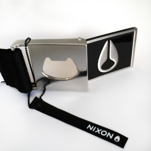 cinturon regulable nixon con hebilla wings c790-000