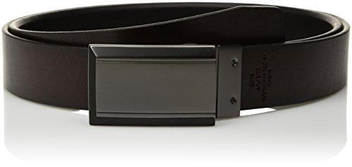cinturón reversible de la placa de los hombres de kenneth co