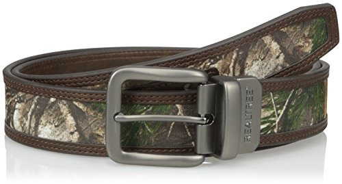 cinturón reversible realtree para hombre con incrustación de