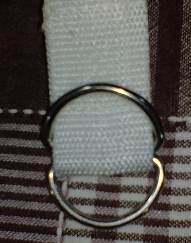 cinturon riddell blanco futbol americano nuevo $ 50