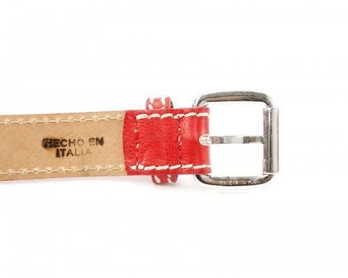 cinturón rojo pennyblack