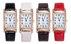 Cuadrado Gente Reloj Forma Cinturón Romano Moda Mano N8n0wymvO