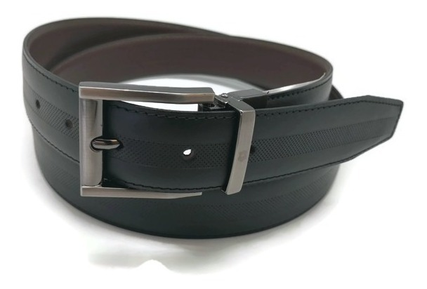 c10882e9 Cinturon Royal Swiss Reversible Piel Genuina Grabado Fashion